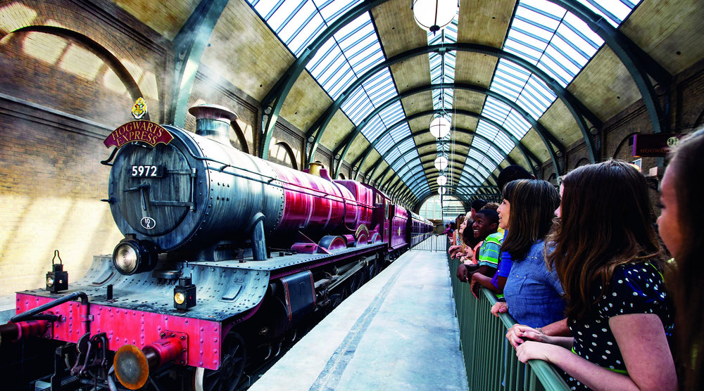The Hogwarts Express, Universal Stduioops, orlando, FL Photo: Doppelmayr
