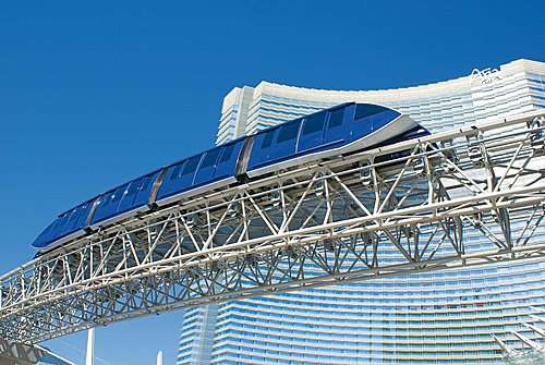Second CABLE Liner Shuttle, Las Vegas, NV Photo: Doppelmayr