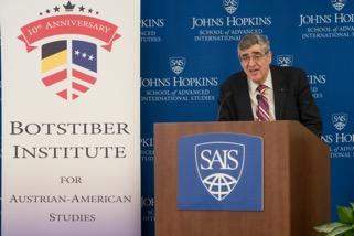Professor Gary Cohen, former director, Center for Austrian Studies, University of Minnesota