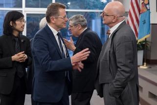 Ambassador Wolfgang Waldner, Professor Botstein