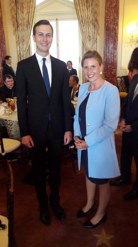 Jared Kushner, Susanne Raab