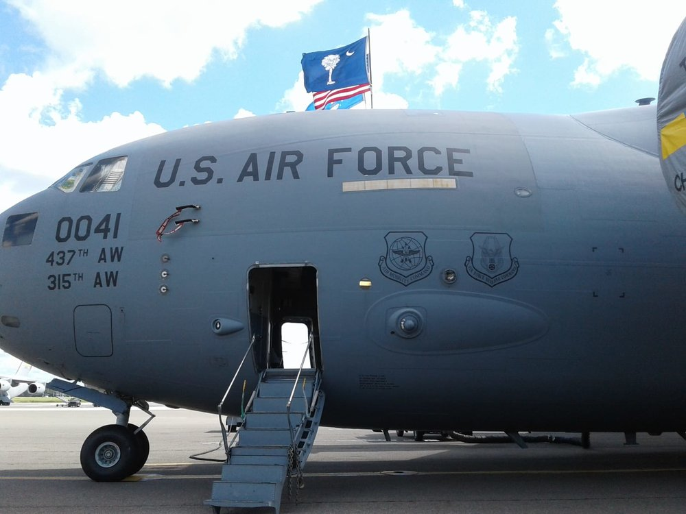 Globemaster C-17, Joint Base Charleston