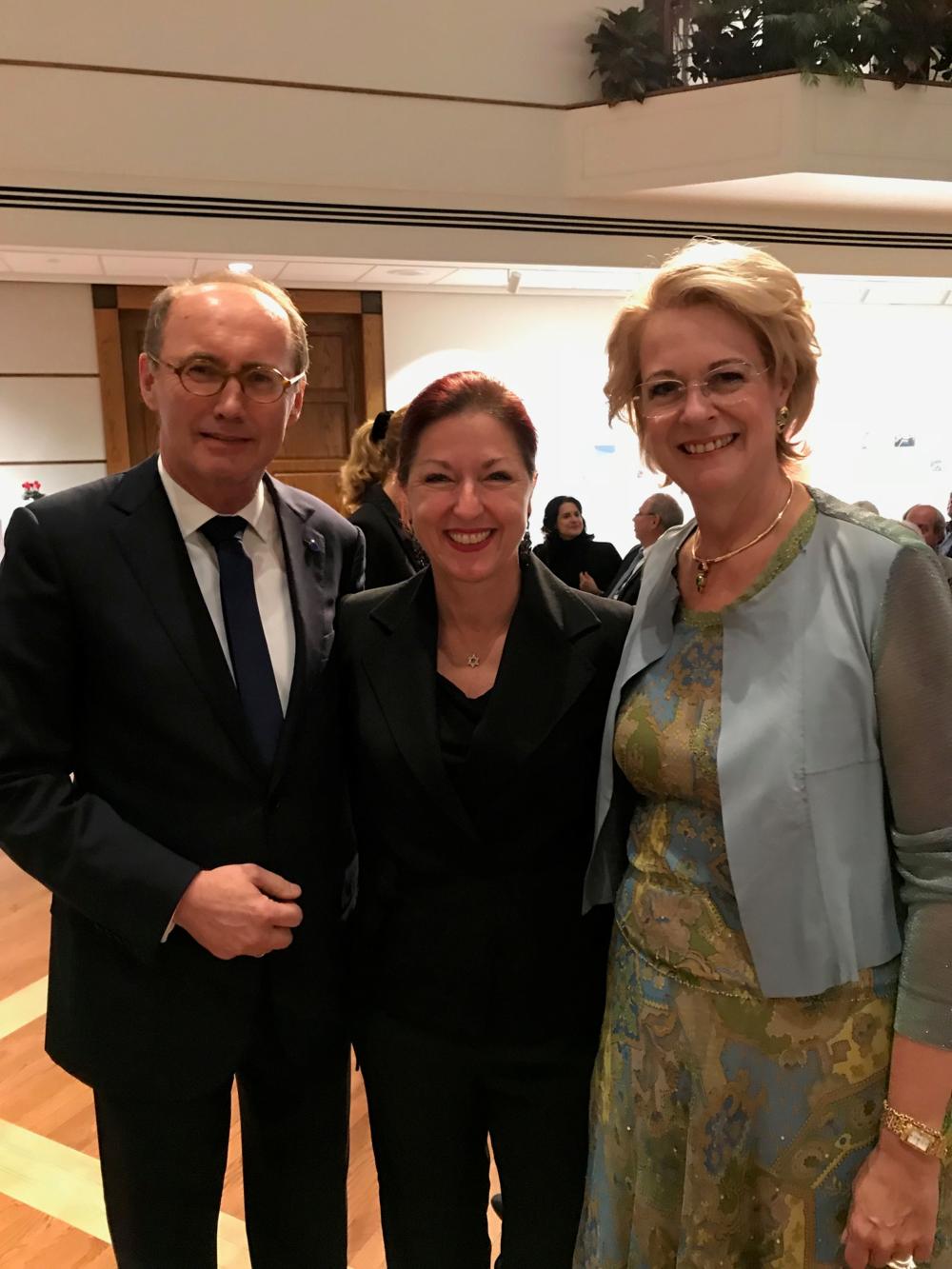 With Othmar and Christa Karas