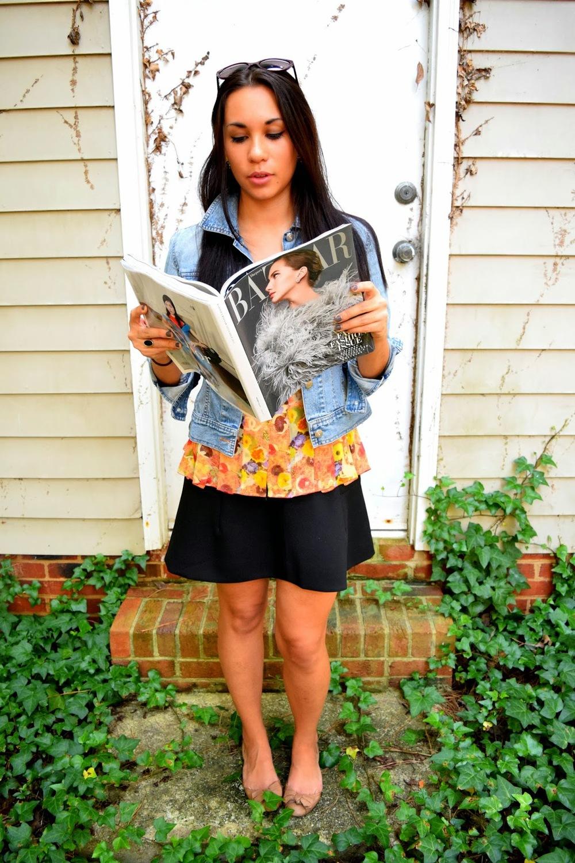Chanel, back to school, Mel, vintage, Vogue, Bazaar, Mel in Chanel, Chloe, school uniform