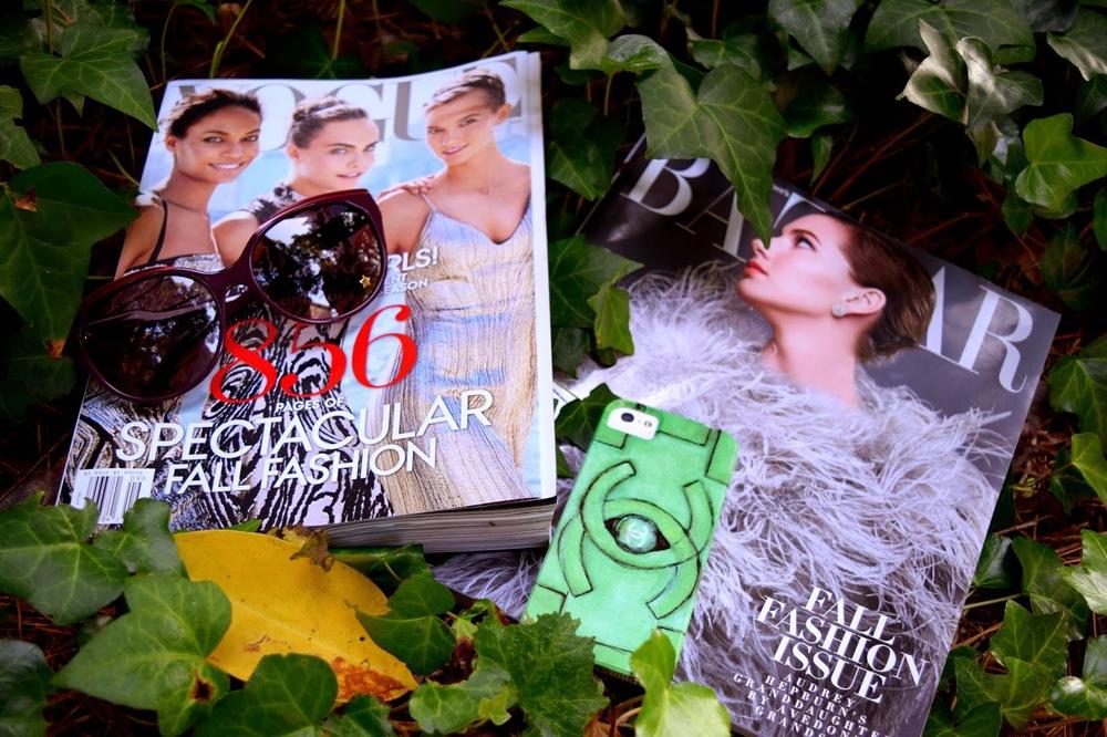 uniform, school, Chanel, Mel, Vogue, Bazaar, vintage