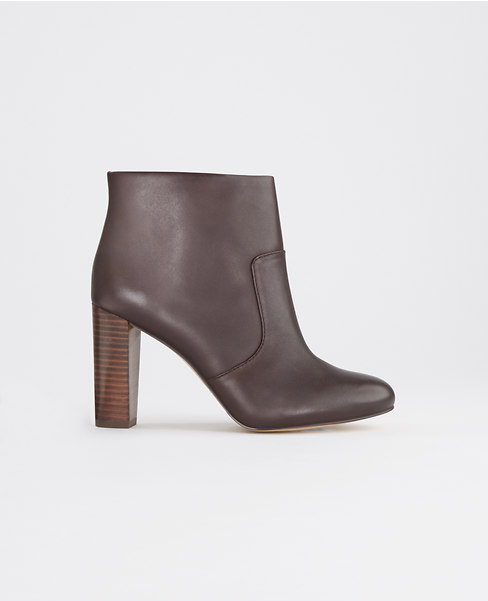 Carly Leather Bootie