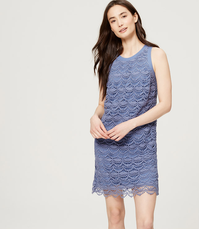 Scallop Dress, loft.com
