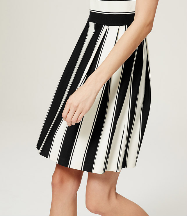 Stripe Flare Dress, loft.com