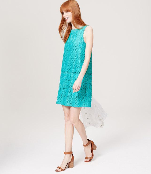 Paradise Lace Dress, loft.com