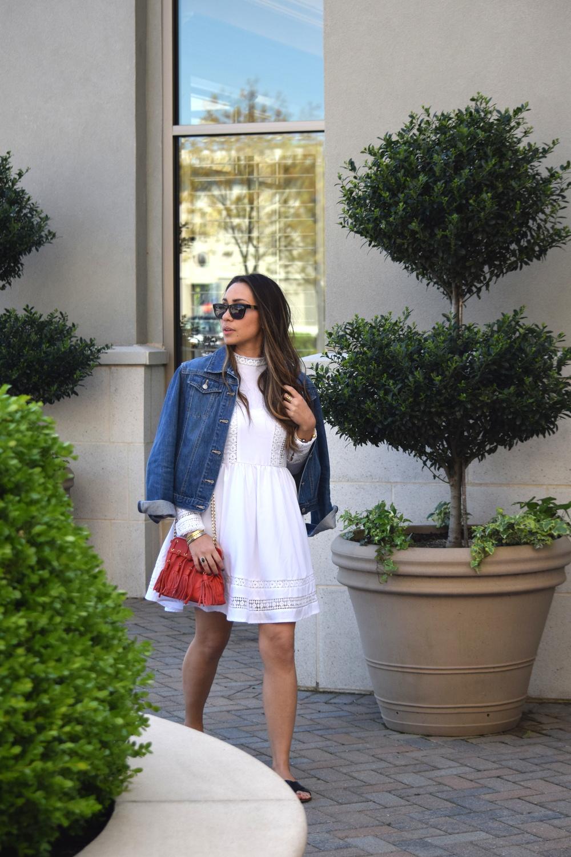 bf3f694393 Little Lacy White Dress — Mel in Chanel
