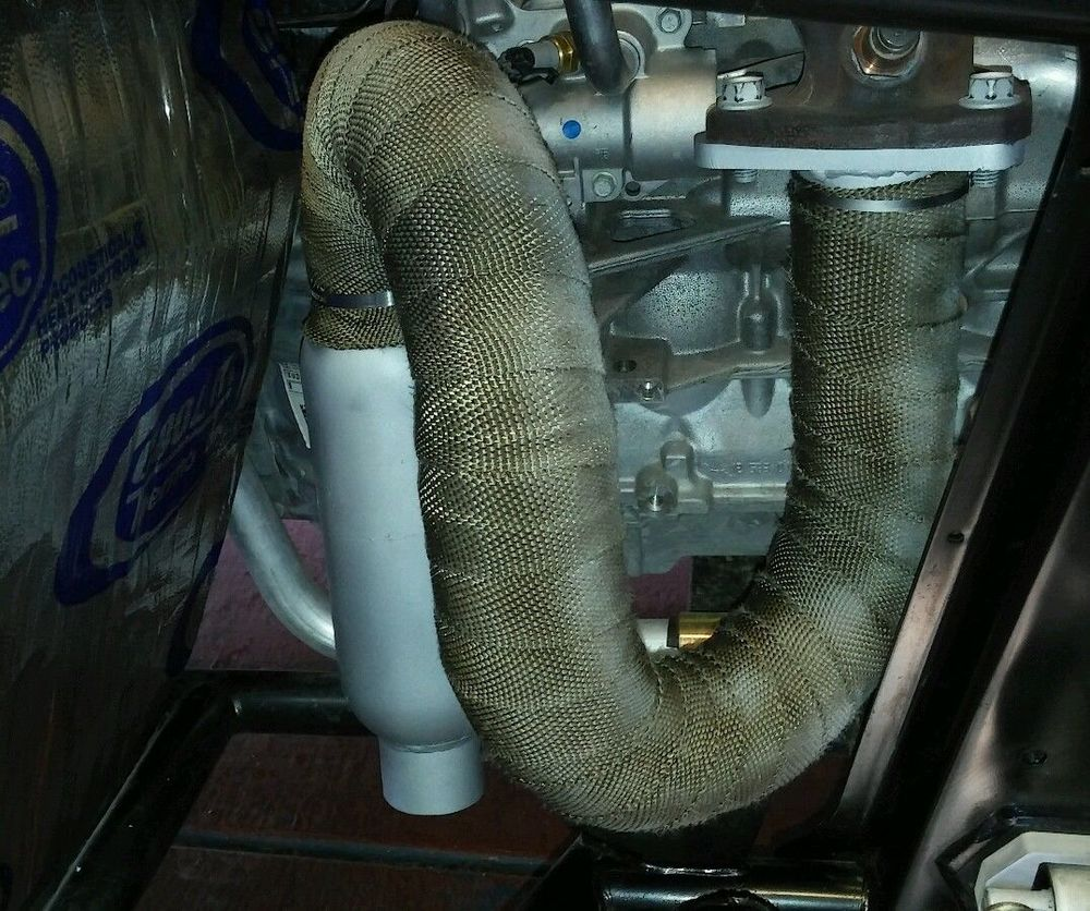 HOT SHOT EXHAUST WITH HEAT WRAP