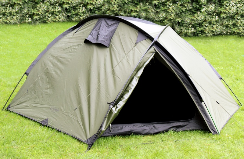 Snugpak Bunker Tent Pitched on grass.jpg