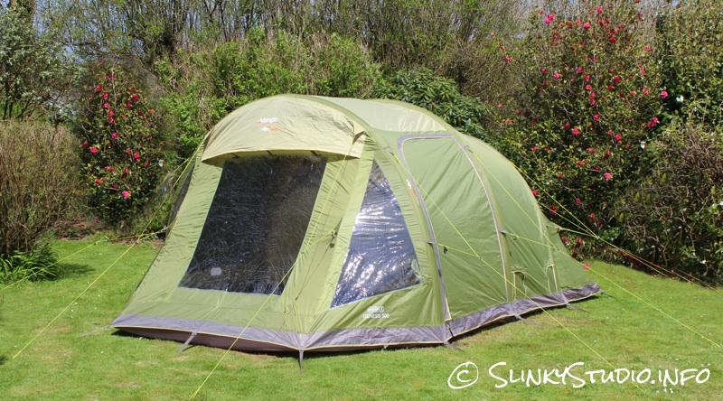 Vango Genesis 500 Tent Review Slinky Studio