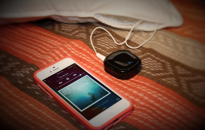 iMusic Bluetooth Pillow Adapter iPhone 5.jpg