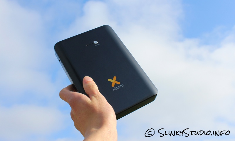 Xtorm Laptop Power Bank 18.000 Against The Sky.jpg
