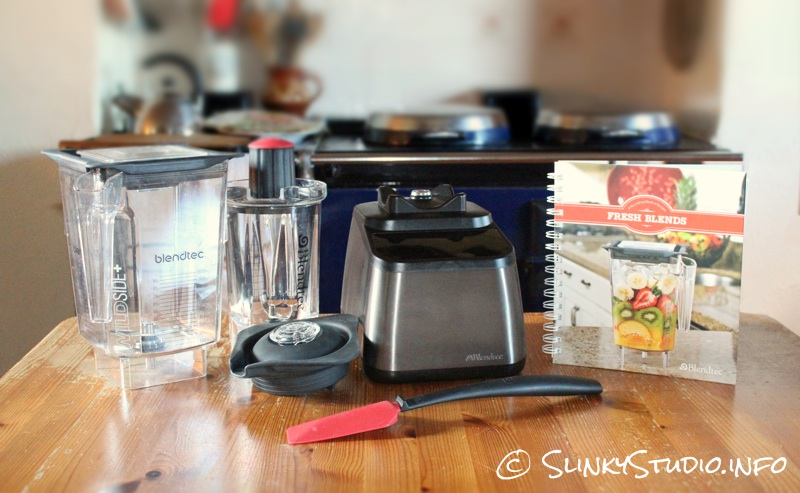 Blendtec Designer Series Blender WildSide+ Jar, Twister Jar, Cook Book,.jpg