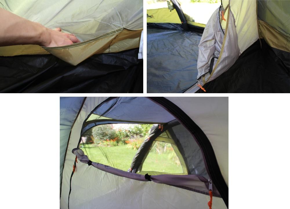 Vango Velocity 400 Tent Pockets, Mesh, Doorway Net.jpg