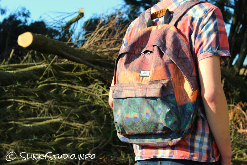 HYPE Backpack teenage boy walking through a woods.jpg