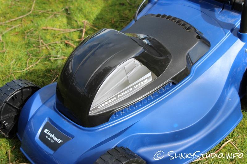 Einhell BG-EM 1437 Electric Lawnmower Carbon Power Motor Close Up.jpg