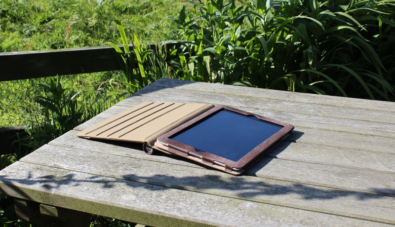 A-Solar Xtorm Power Tablet Sleeve Case for iPad 2:3:4 Open View.jpg
