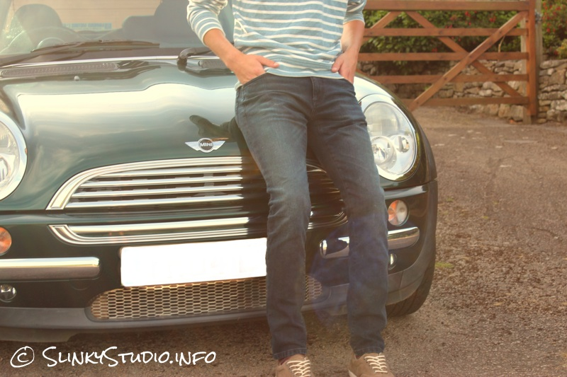 Jack & Jones Premium Ben Classic Skinny Jeans MINI Cooper Backdrop.jpg