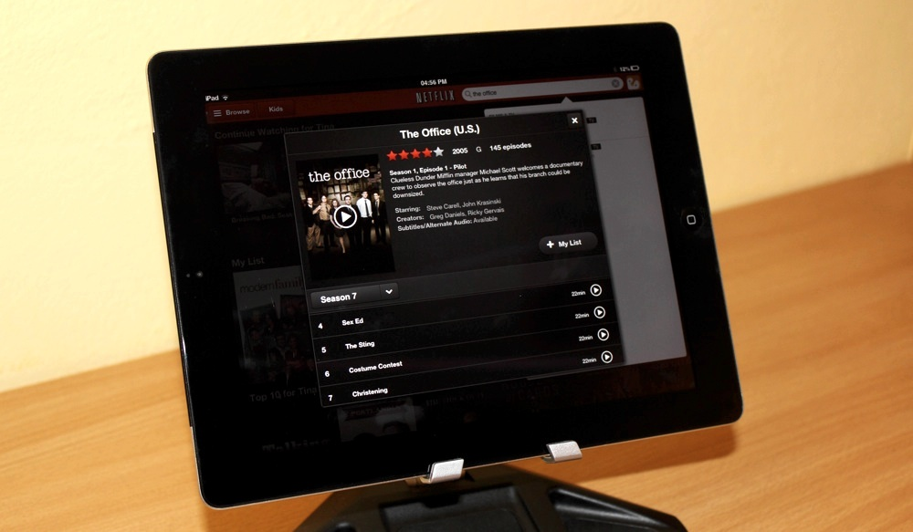 Netflix UK iPad App The Office USA.jpg