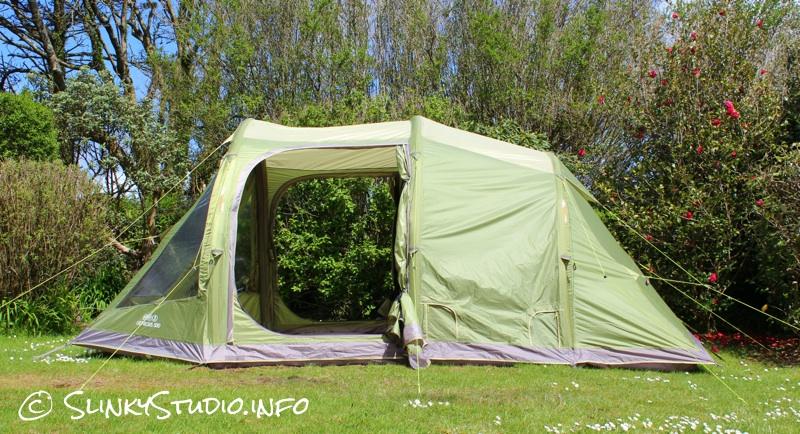 Vango Genesis 500 Tent Side View Doors Open.jpg