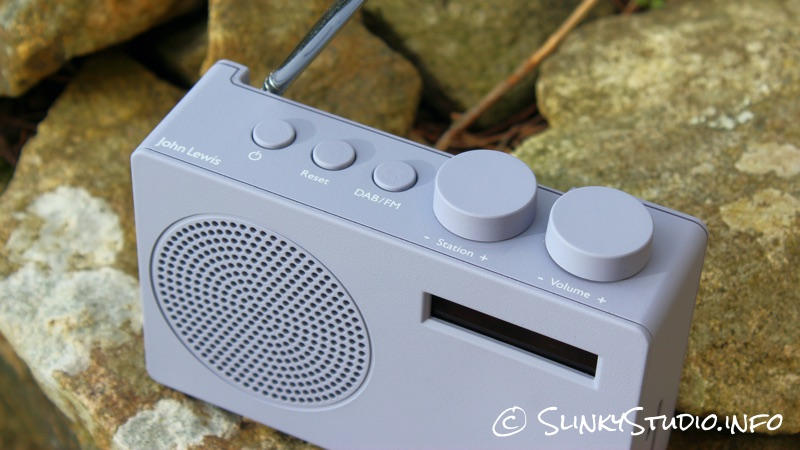 John Lewis Spectrum DAB Radio Above View .jpg
