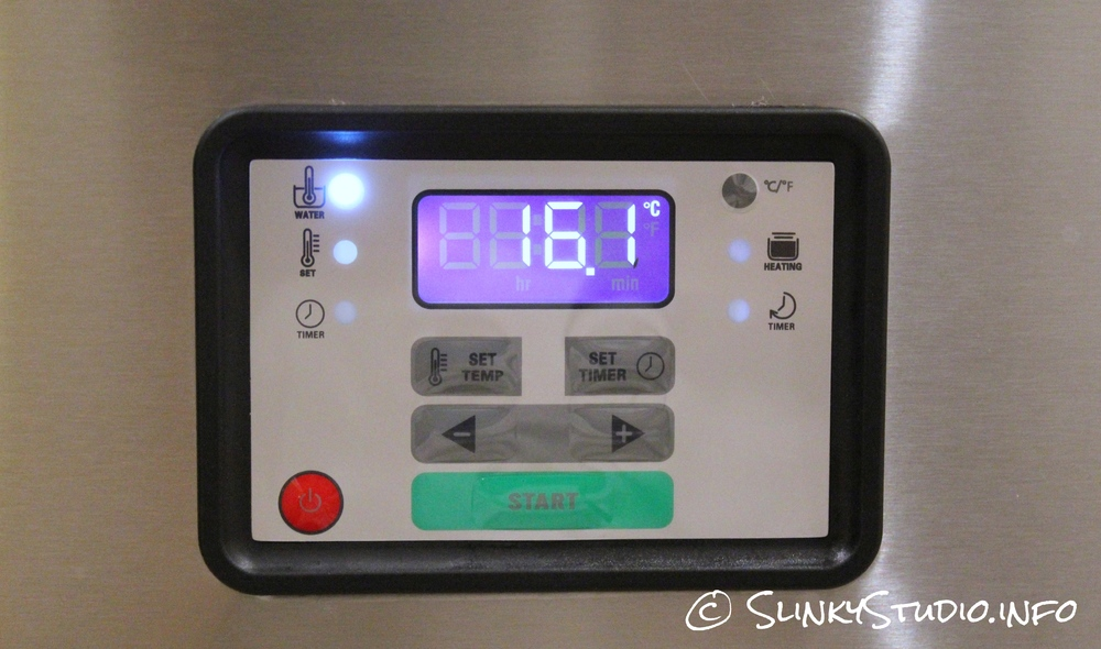 SousVide Supreme LED Display & Controls