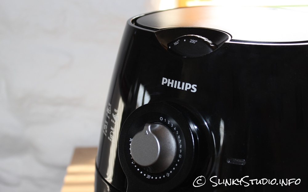 Philips Viva Airfryer Black Dial Controls