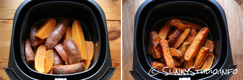 Philips Viva Airfryer Sweet Potato Chips/ Fries Results