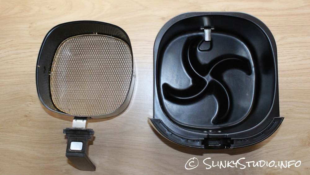 Philips Viva Airfryer Basket Separated