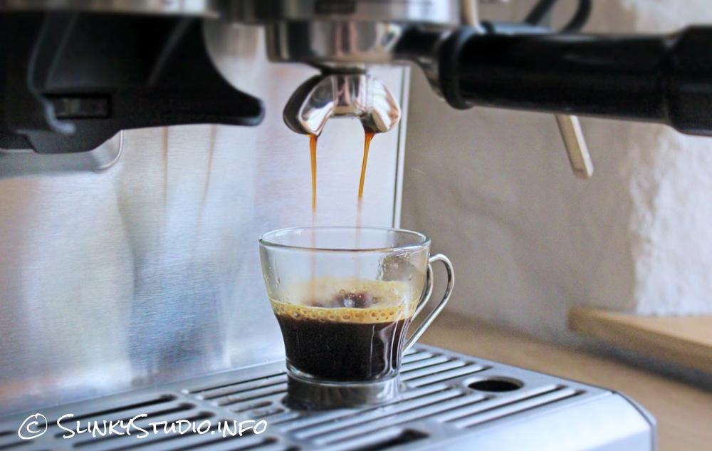 Sage Barista Express Espresso Extration