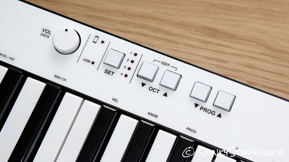 IK Multimedia iRig Keys Pro Button Controls