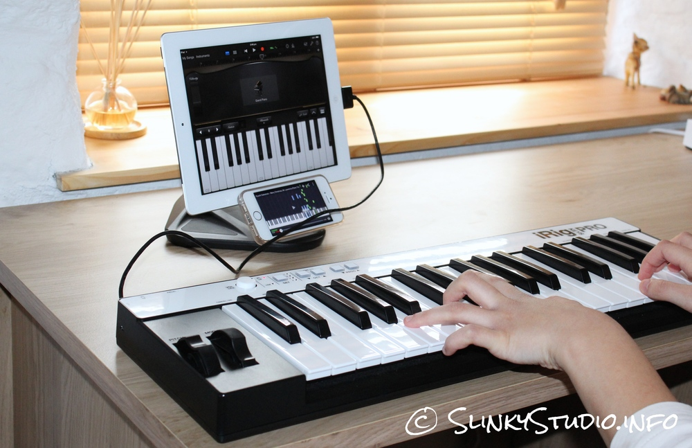 IK Multimedia iRig Keys Pro Being Played