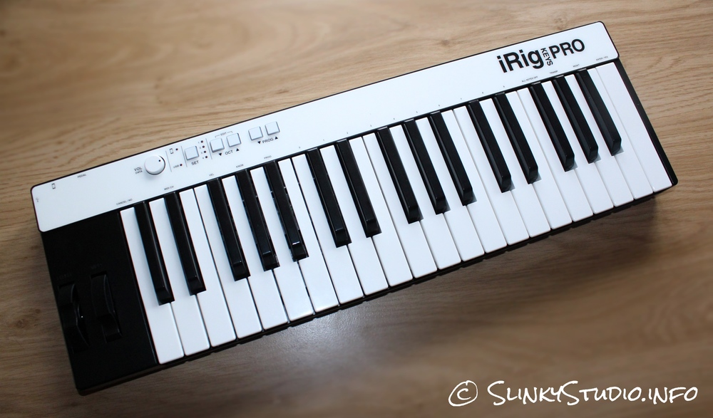 IK Multimedia iRig Keys Pro Keyboard Full View
