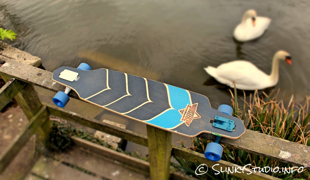 Dusters Wake Longboard Top Deck View