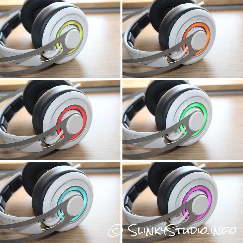 SteelSeries Elite Prism Gaming Headset Changing Colour