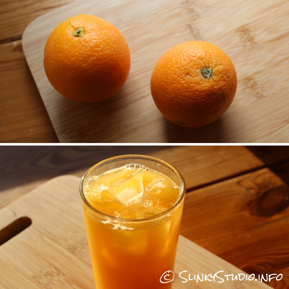Retro Cold Press Juicer Orange Juice