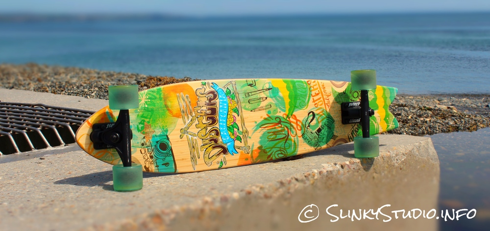 Dusters Snapshot Longboard Deck Graphics