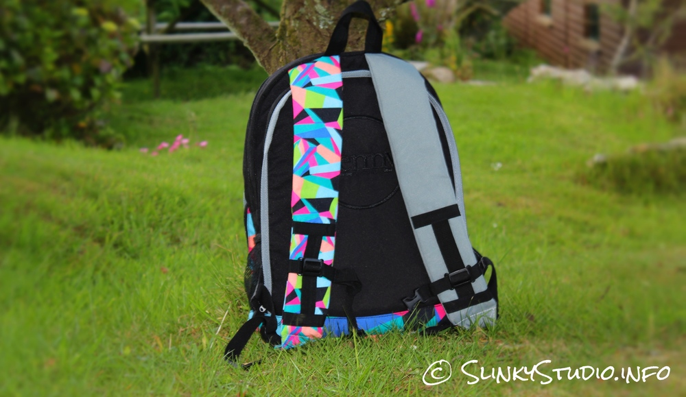 Penny Pouch Backpack Slater Shoulder Straps Rear View