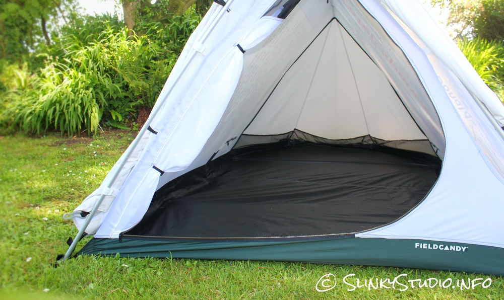 FieldCandy Original Explorer Tent Interior Space
