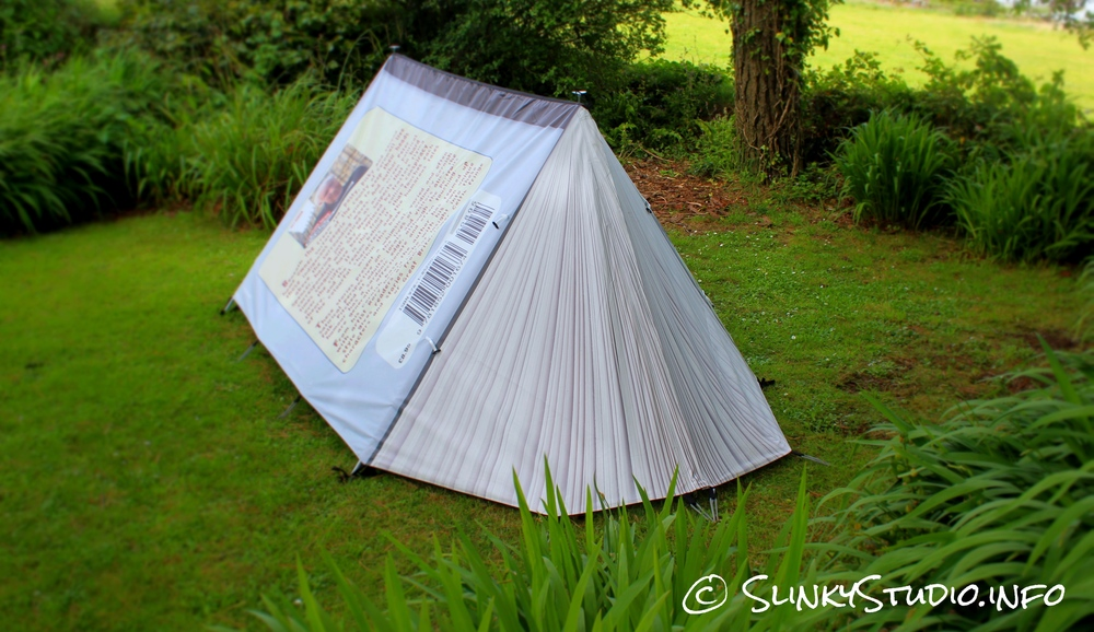 FieldCandy Original Explorer Tent Bookend Pages Fanned