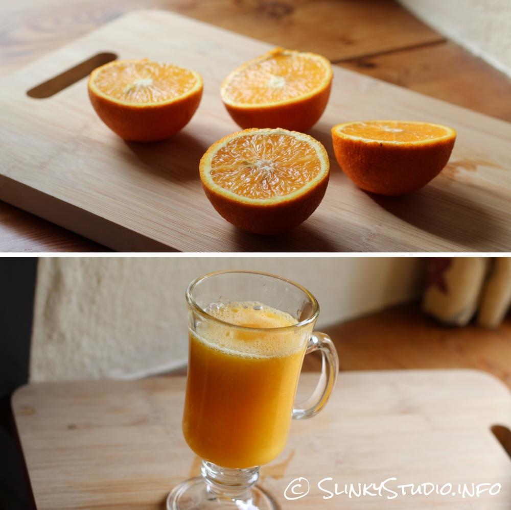 Novis Vita Juicer Orange Juice