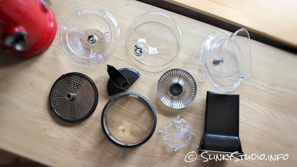 Novis Vita Juicer Components