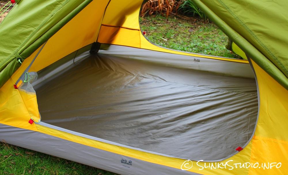 Jack Wolfskin Skyrocket III Tent Interior Space
