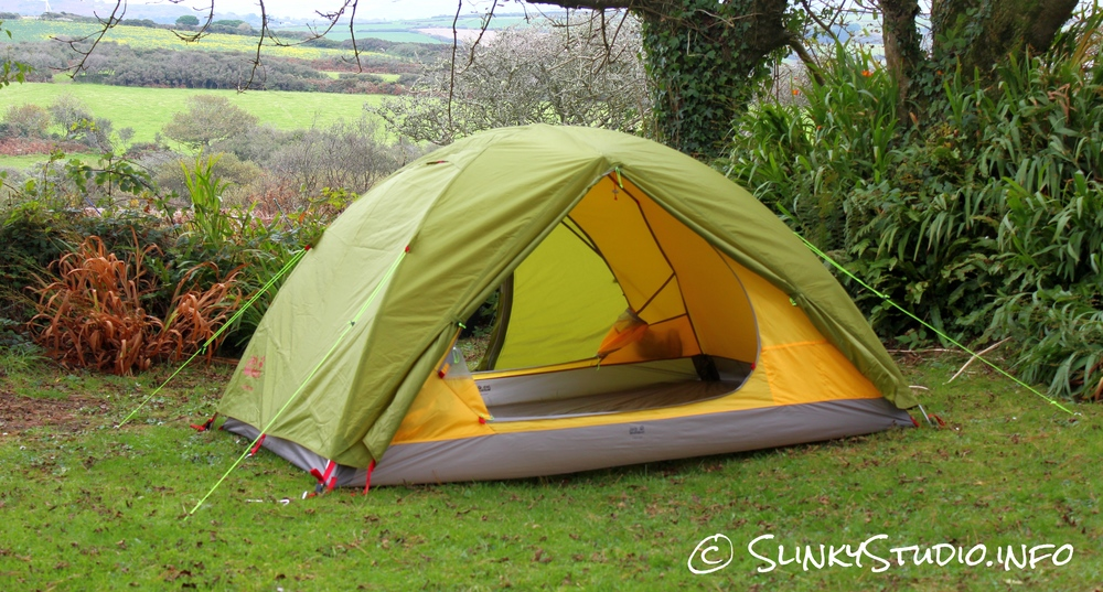 Jack Wolfskin Skyrocket III Tent Door Open Fully
