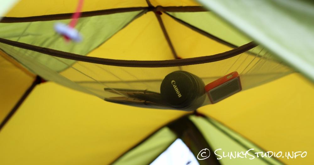 Jack Wolfskin Skyrocket III Tent Ceiling Storage