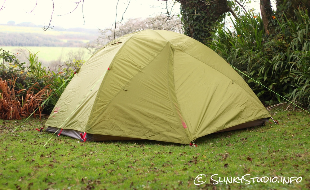 Jack Wolfskin Skyrocket III Tent Doors Closed