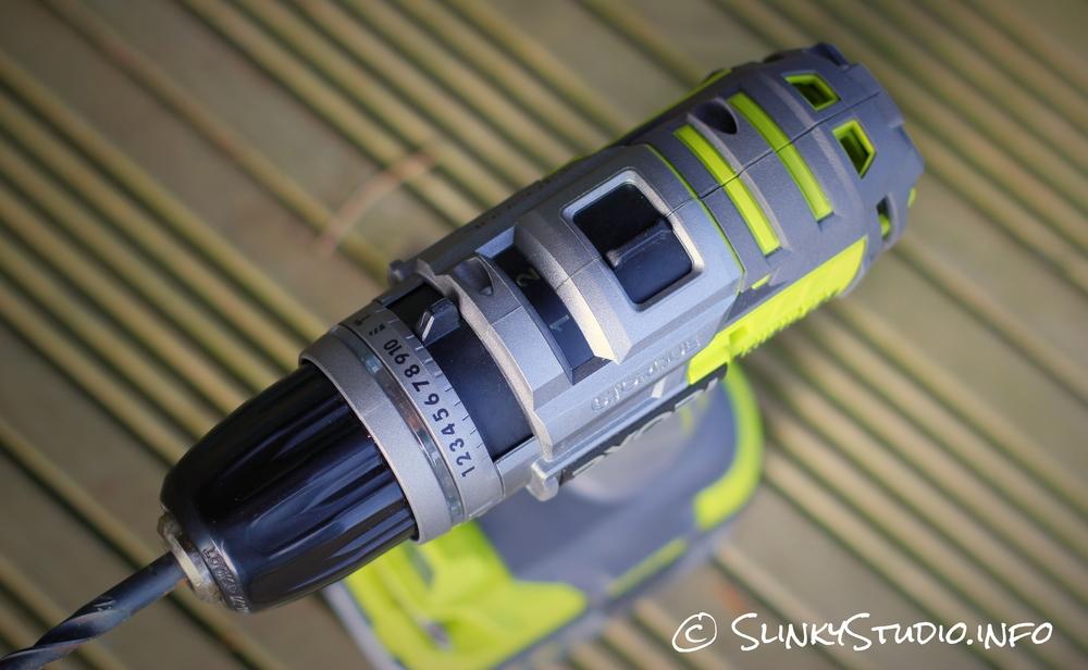 Ryobi 18V One+ Brushless Drill Controls